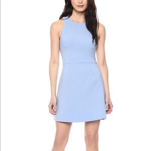 French Connection Whisper Light Blue Strappy Dress